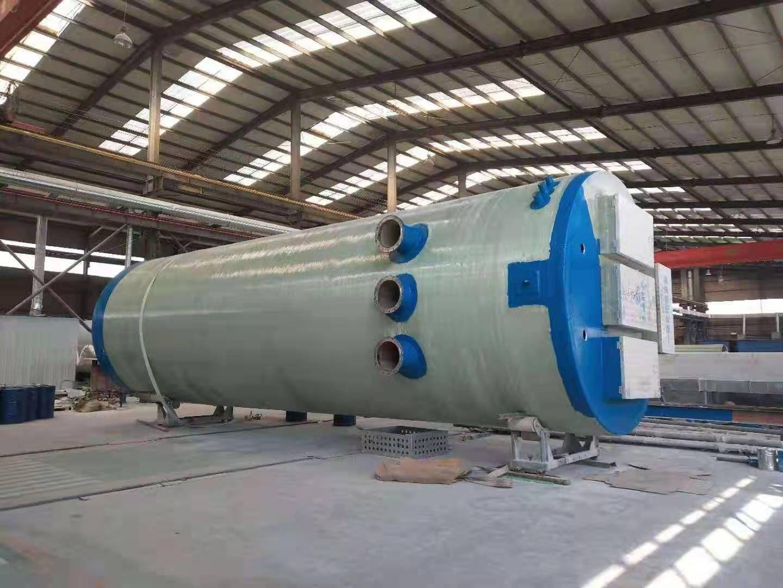 锡林郭勒盟地埋式一体化预制泵站