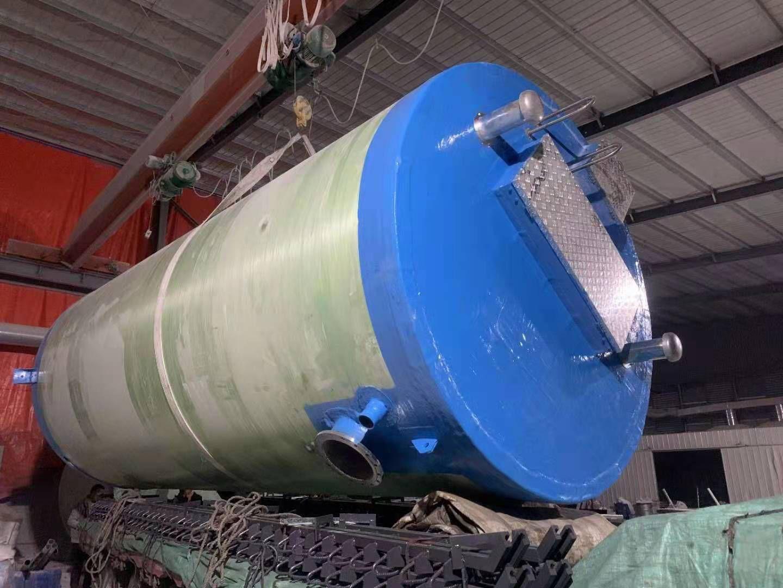 锡林郭勒盟一体化泵站提升泵站