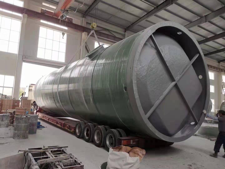 锡林郭勒盟玻璃钢一体化泵站