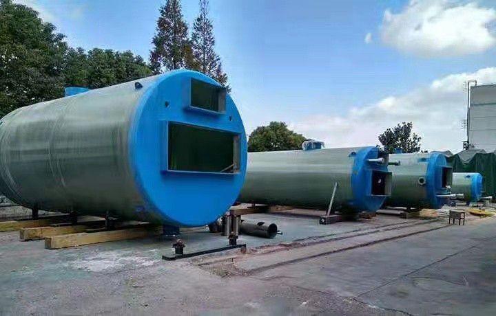锡林郭勒盟一体化排水泵站